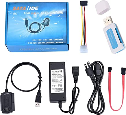 IDE Notebook Hard Drive to Computer Hard Drive Adapter Notebook to 3.5 inch IDE//PATA GOWOS 2.5 inch IDE//PATA 3 Pack 44 Pin 40 Pin