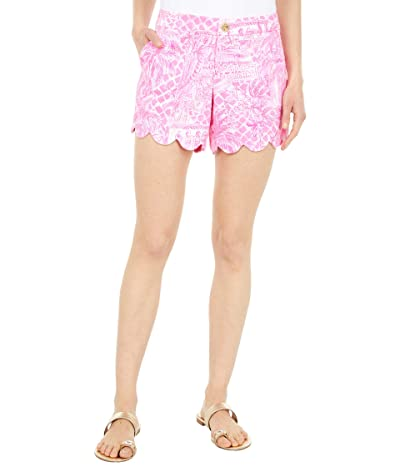 Lilly Pulitzer Buttercup Stretch Shorts Women