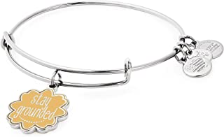 Alex and Ani Womens Words are Powerful Stay Grounded Bangle