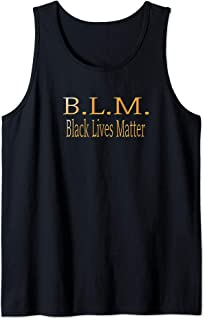 Black Lives Matter Political Protest Tank Top
