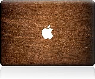 Sticker Adhesivos Macbook,Caroki Estilo de Textura de Madera Opaco Protección Vinilo Adhesivo Skin para Apple MacBook (MacBook Air 13
