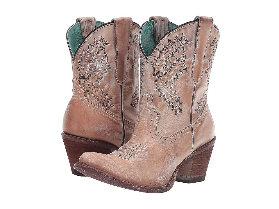 Corral Boots E1437 (Rose) Cowboy Boots