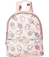 Food Print Dome Mini Backpack
