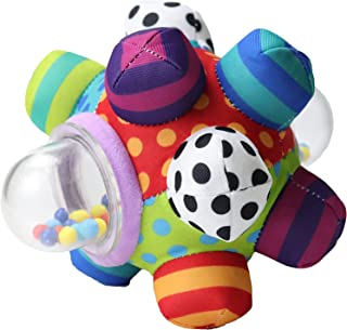 Developmental Bumpy Ball | Easy to Grasp Bumps Help Develop Motor Skills | for Ages 6 Months and Up | Colors May Vary