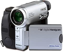 Sony Handycam DCR-TRV33 MiniDV Camcorder with 10x Optical Zoom, 3-Inch Touch-Panel LCD and 1 MP Still Image