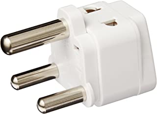 CKITZE BA-10LA Grounded Universal 2 in 1 Plug Adapter Type M for South Africa & more - CE Certified