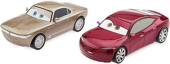 Disney Sterling & Natalie Certain Pull 'N' Race Die Cast Set - Cars