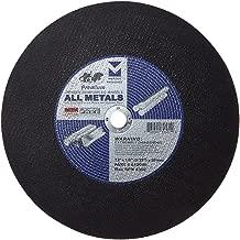 "Mercer INDUSTRIES 612030类型1双人加固分离点 wheel ,适用于所有 metals ,10件装 12"" x 1/8""(5/32) x 20mm"