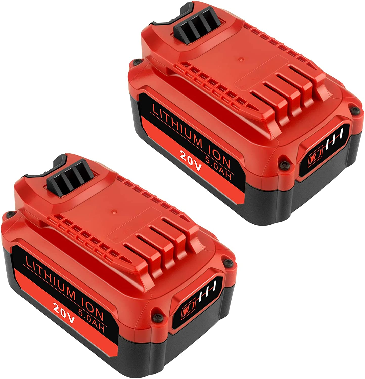 ADVTRONICS 2 Pack 20V 5.0Ah CMCB204 Craf with Battery 新色追加して再販 Compatible 新品■送料無料■