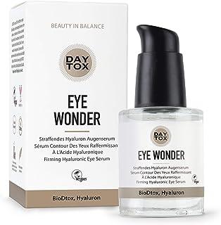 DAYTOX Eye Wonder - Suero Reafirmante Hialurónico para Ojos - Efecto Inmediato - Vegano - Sin Colorantes, sin Silicona y sin Parabenos - 1 x 30 ml