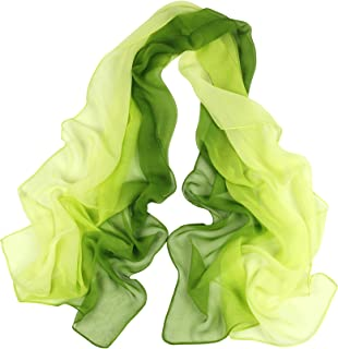 Best green chiffon scarf Reviews