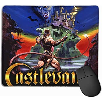 JoshuaHenderson Gaming Mouse Pad with Stitched Edges /& Rubber Base Castlevania Mouse Mat 3MM