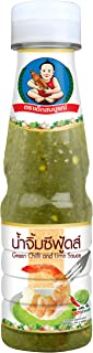 Healthy Boy Seafood Dipping Sauce (Green Chili & Lime) 6 Ounces, Product of Thailand (Pack of 1)