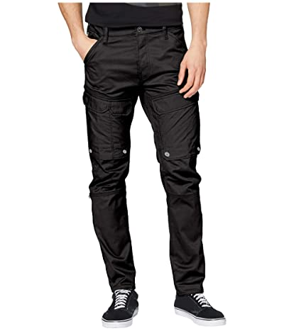 G-Star Front Pocket Slim Cargo Pants (Dark Black) Men