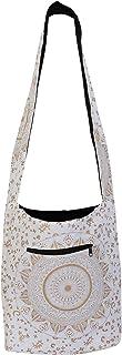 Ozaya Handicraft Printed Reusable 100% Cotton EcoFriendly Large Jhola Bag