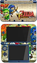The Legend of Zelda: Tri Force Heroes Heros Game Skin for The New Nintendo 3DS XL Console