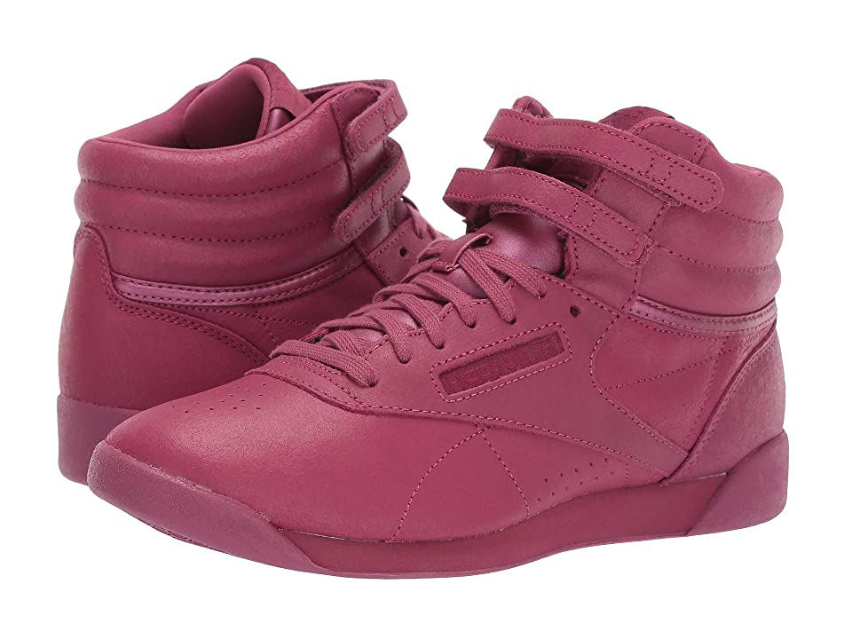 Reebok Kids Freestyle Hi (Big Kid) (Twisted Berry) Girl