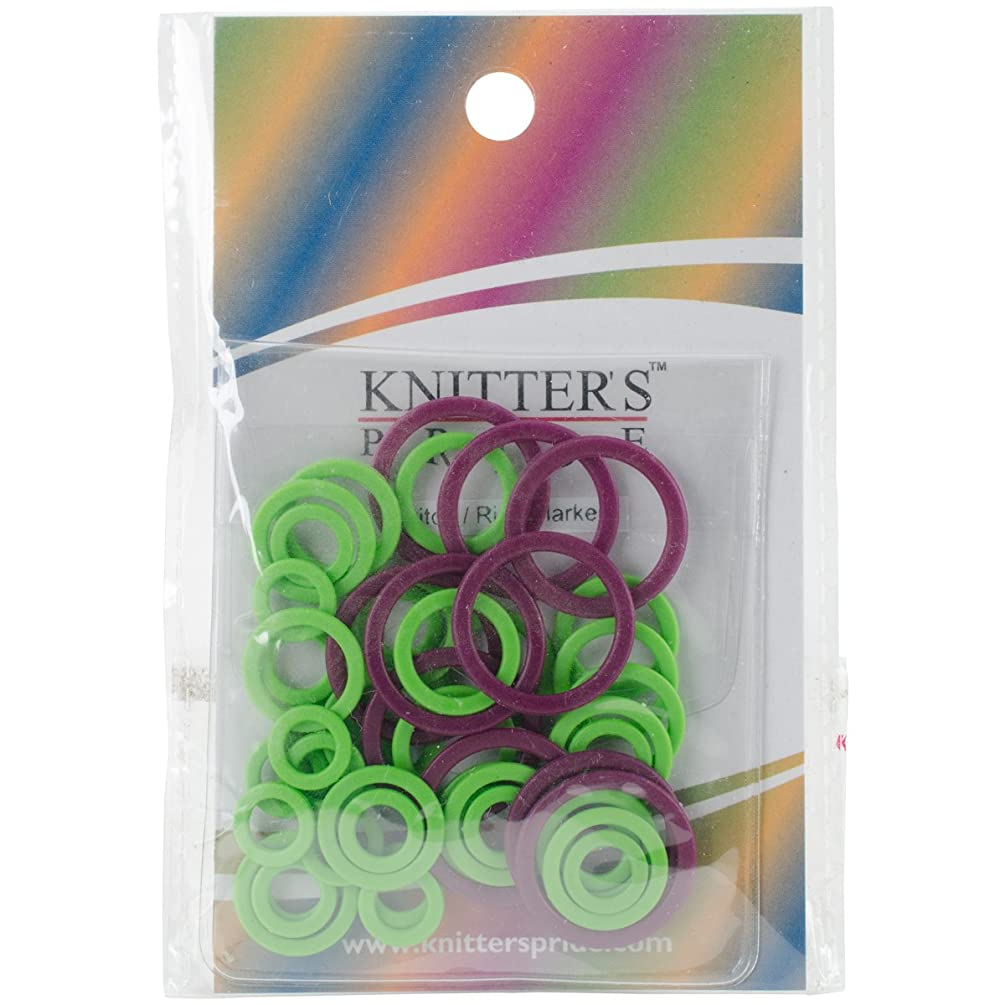Knitter's Pride Mio Stitch Ring Markers (10 Pack), Small