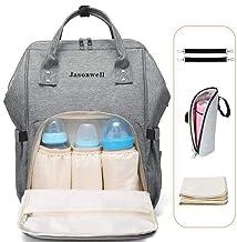 Jasonwell Mochila Pañalera Moderna Pañalera Backpack