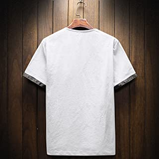♛Linen Cotton Clothing From Chamery♛ - 100% Linen Shirt Men/2019 Prime Deals/Casual Wild Tops Blouse Tees