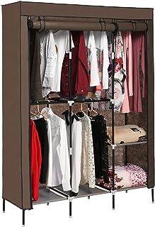 Mauccau Penderie avec étagères - Armoire portable - Rangement pour vêtements - Imperméable et résistant à la poussière - P...