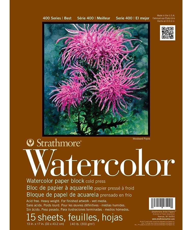 Strathmore - Watercolor Paper Block & Pad - 400 Series - Block - 13