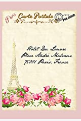 """Postcards From Paris 2021 Planner & Journal: 2021 Paris Inspired Planner Journal Refill 4"""" X 6"""" A6 Full Color Beautifully Themed Vintage Parisian ... From Paris Series 2021 Success Planners) Paperback"""