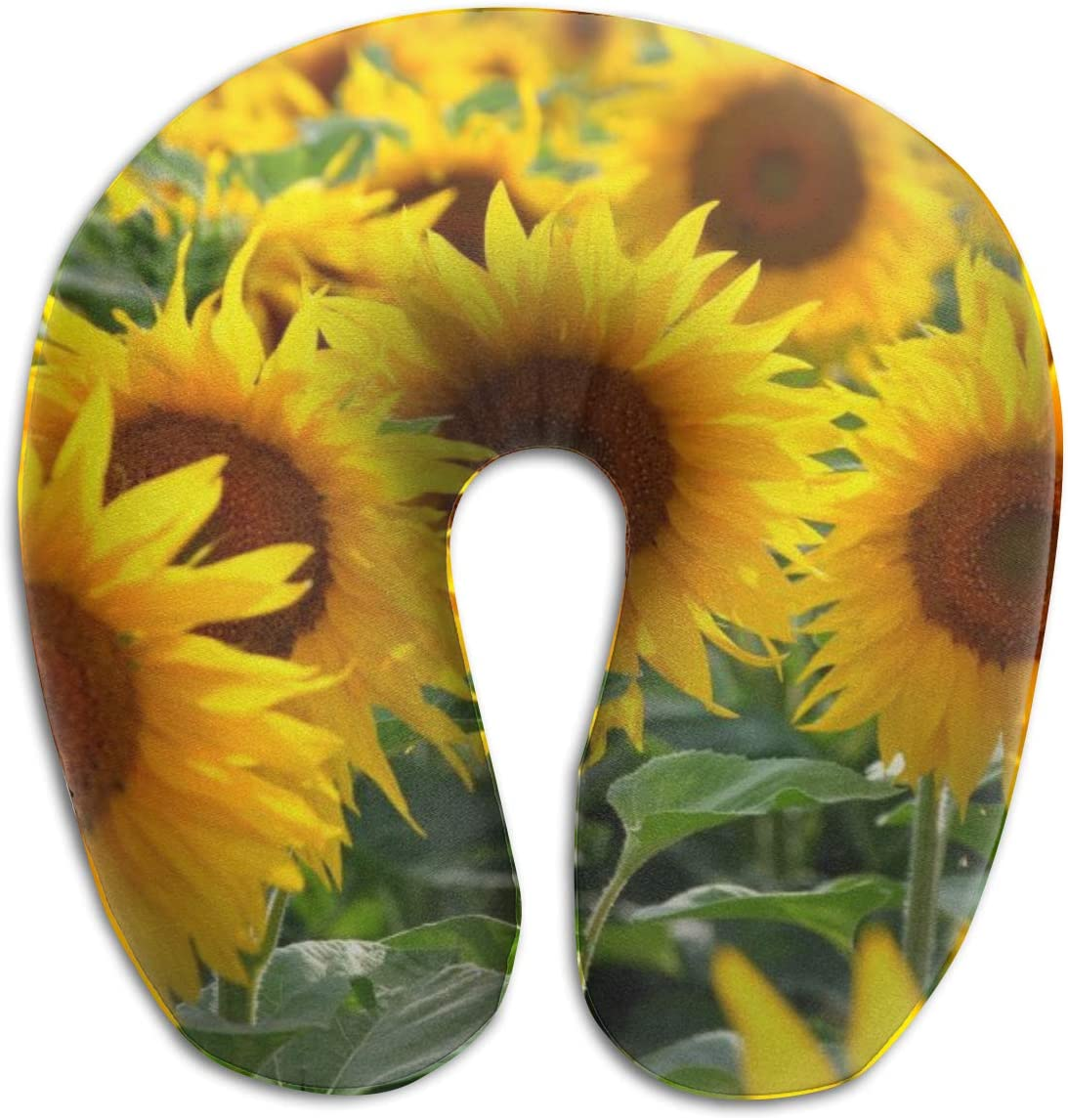 SEAL low-pricing limited product KIENGG Sunflower U Shaped Neck Pillow T Fashion Foam Memory Case