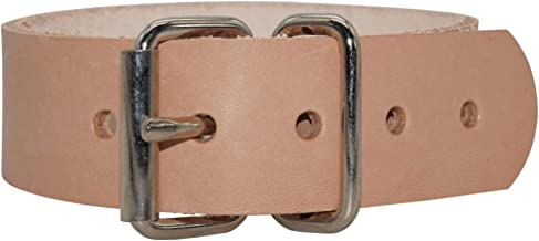 100 Leder-Riemen Braun 18,0 x 1,4 cm Befestigungsriemen Puppenwagen Lederriemen