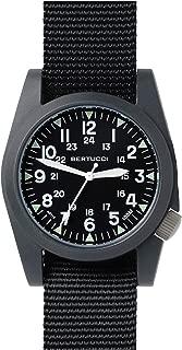 Bertucci A-3P Sportsman Vintage Field Nylon Analog Quartz Men's Watch 13350 by bertucci