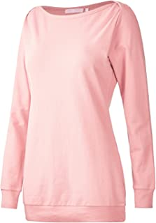 8d7865acb93 Regna X Long Sleeve Loose Casual Pullover Cute Tunics Sweatshirts for Women  (S-3x