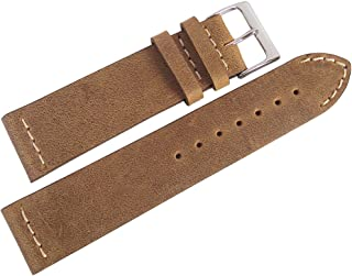 ColaReb 18mm Short Venezia Rust Brown Leather Watch Strap