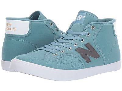 New Balance Numeric NM213 (Stone Blue/White) Skate Shoes