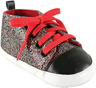 Luvable Friends Sparkly Sneaker (Infant)