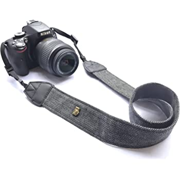 Black CHMETE Camera Neck Shoulder Belt Strap