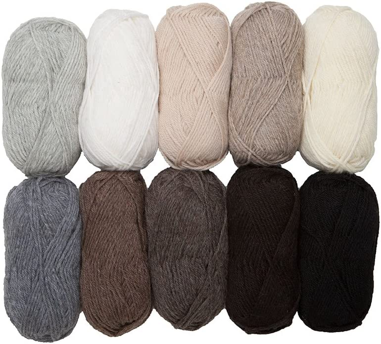 Knit Picks Seattle Mall Wool of The Andes Worsted 10 Neu - Balls Product Yarn Weight