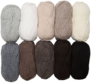 Knit Picks Wool of The Andes Worsted Weight Yarn (10 Balls - Neutral)