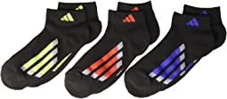 Vertical Stripe Low Cut Socks 6-Pack (Little Kid/Big Kid/Adult)