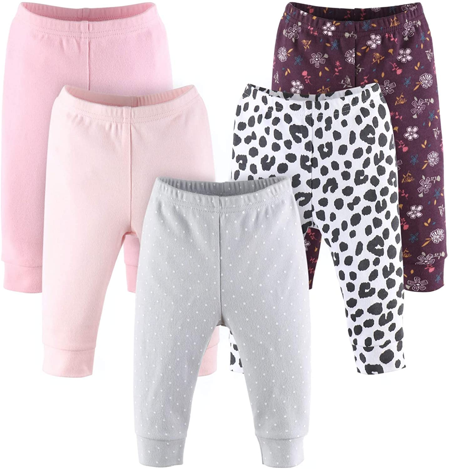 The Nashville-Davidson Mall Max 42% OFF Peanutshell Floral and Animal Baby Print Pants Set for
