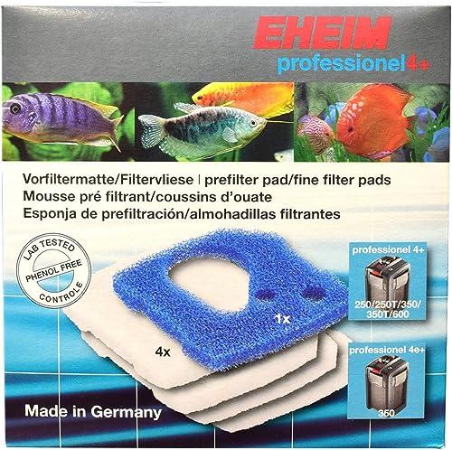 EHEIM 2617710 Set de Mousse Filtration + 4 Coussins de Ouates pour Aquariophilie