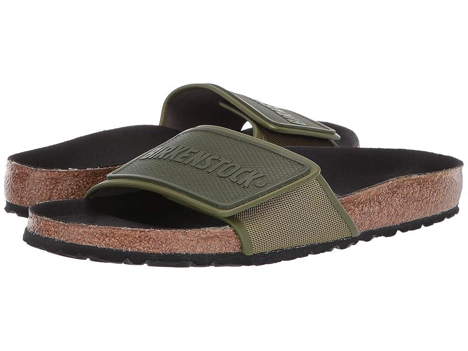 Image of Birkenstock Tema (Green Textile) Men's Sandals