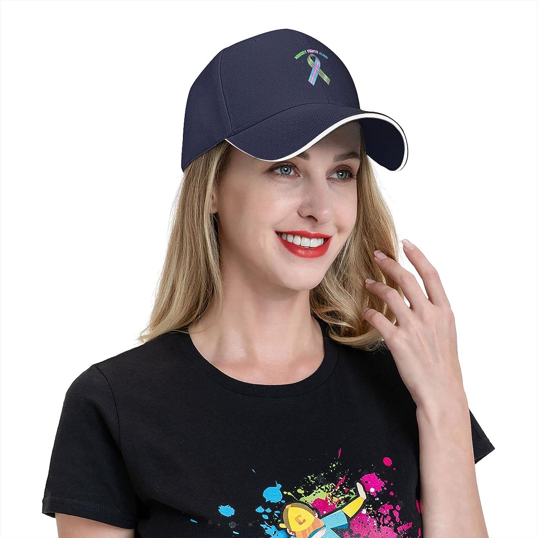 Metastatic Breast Cancer Awareness Cap,Adjustable Golf Baseball Cap Outdoors Cap Trucker Hat Unisex Gift Navy