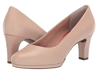 Rockport Total Motion Leah Pump (Neutral Beige) Women