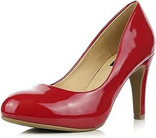 Women's Memory Foam Cushion High Heel Stiletto Pumps Shoes