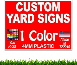 """2-Sided Signs 18/"""" x 12/"""" Political Campaign Yard Signs Joe Biden 2020 3-Pack"""