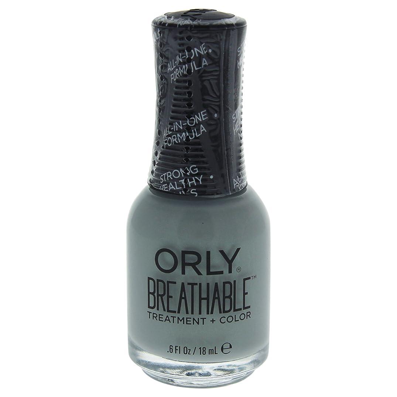 文法チューインガム悪行Orly Breathable Treatment + Color Nail Lacquer - Aloe, Goodbye! - 0.6oz / 18ml
