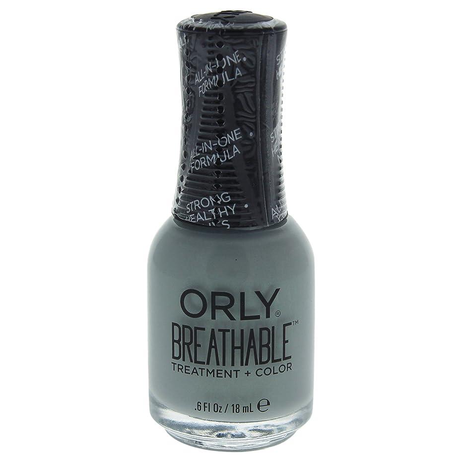 登録どういたしましてチャレンジOrly Breathable Treatment + Color Nail Lacquer - Aloe, Goodbye! - 0.6oz / 18ml