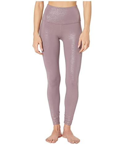 Beyond Yoga Twinkle High Waisted Midi Leggings (Wild Orchid/Rose Gold Twinkle) Women