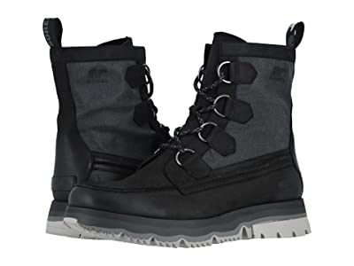 SOREL Atlistm Caribou Waterproof (Black/Cloud Grey) Men