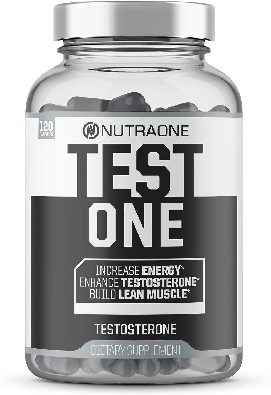 Testone Testosterone Supplement for Men by NutraOne - Natural En